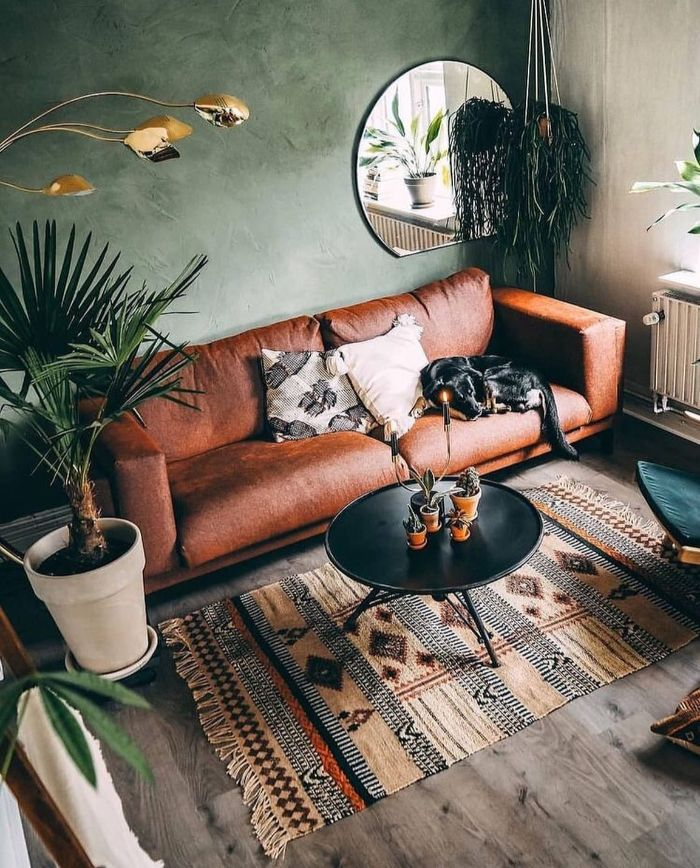 мягкая мебель в офомлении зала