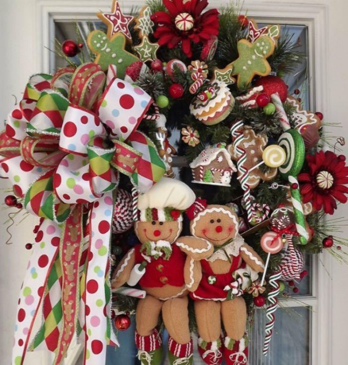 рождественский веночек в детскую
