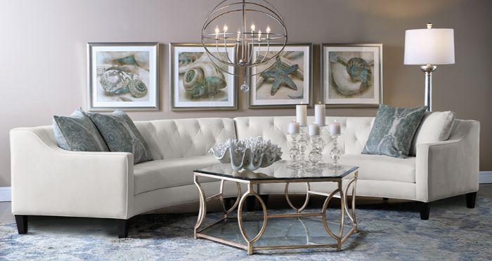 удобная мебель в зал