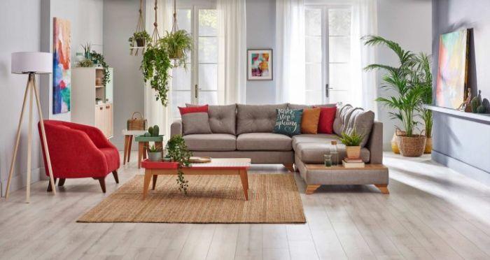 как обставить зал мягкой мебелью
