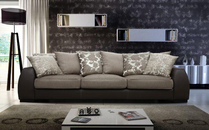 красивый диван в зал фото