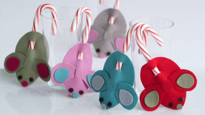 новогодний декор в год крысы