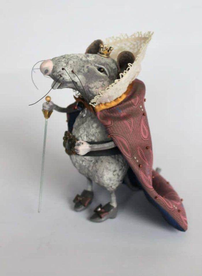 красивый декор в год крысы