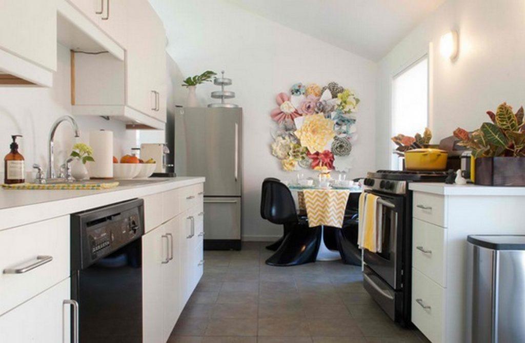 Декор стены на кухне панно фото