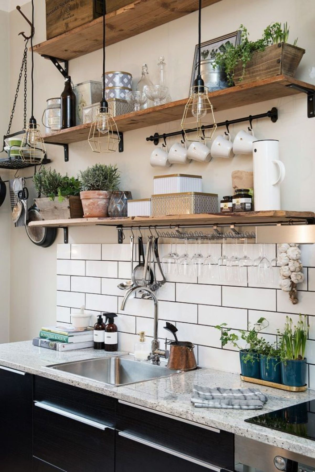 декор для кухни полки своими руками