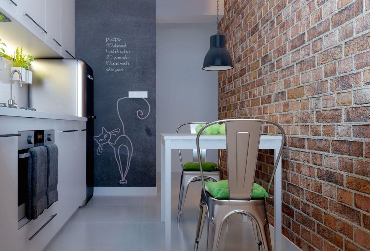 декор кухни лаконичный дизайн интерьера