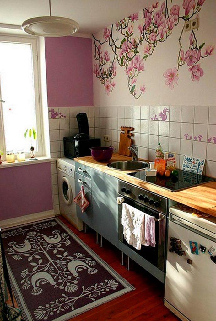 декор стен кухни виниловая накатка