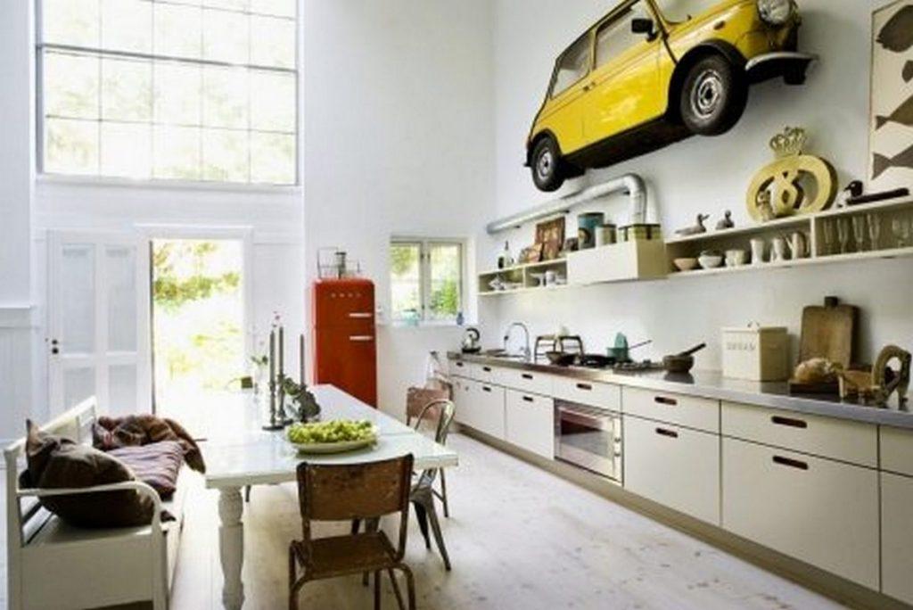 декор стен на кухне оронинальные идеи