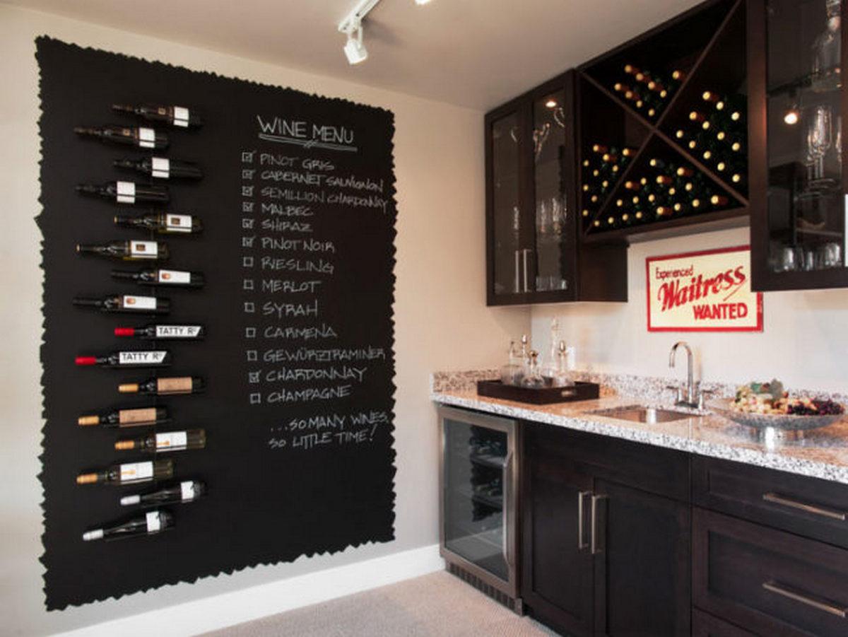 дизайн декор стен на кухне