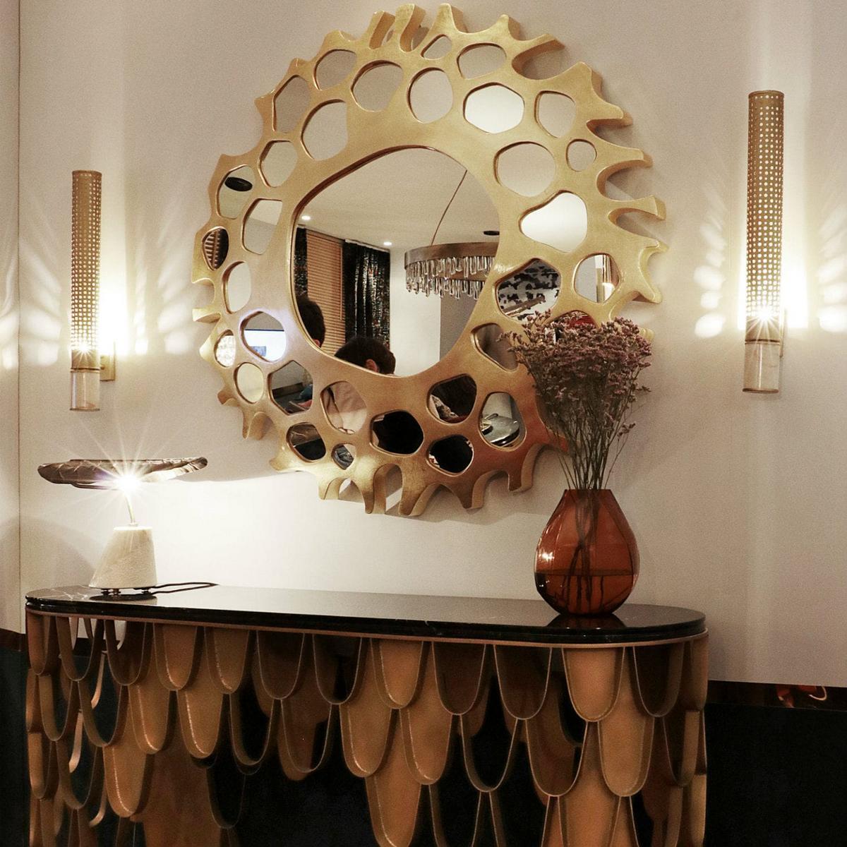 зеркала в гостиной