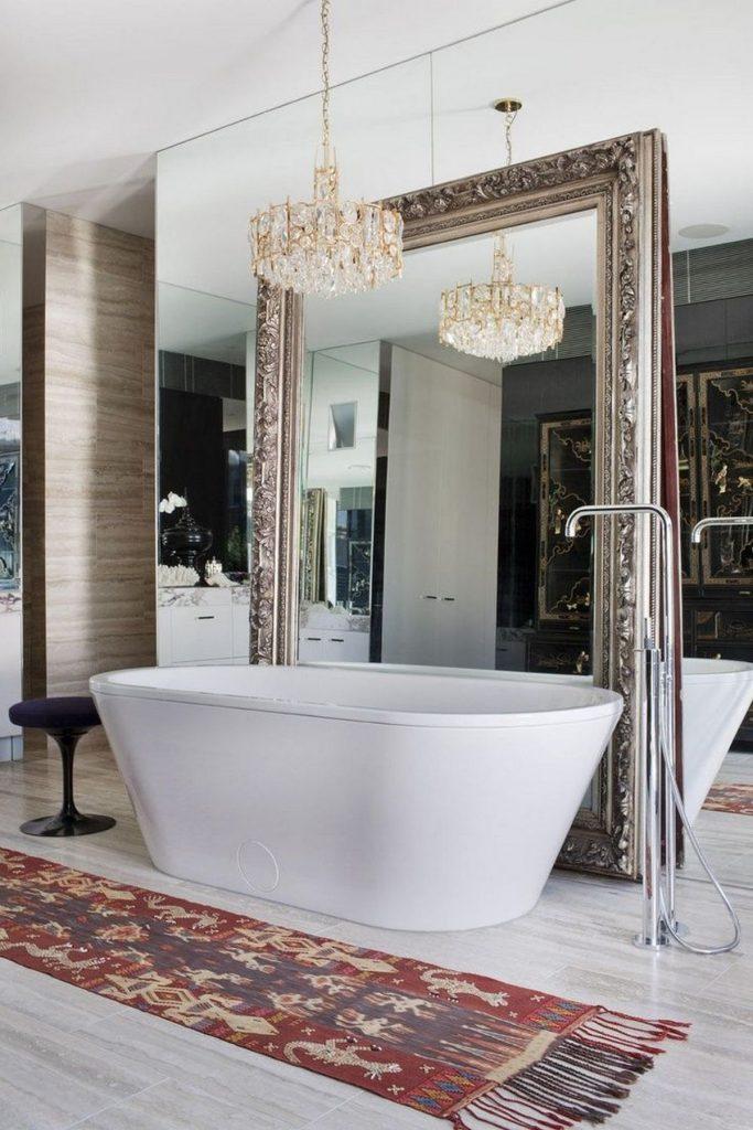 декоративные зеркала для интерьера ванной