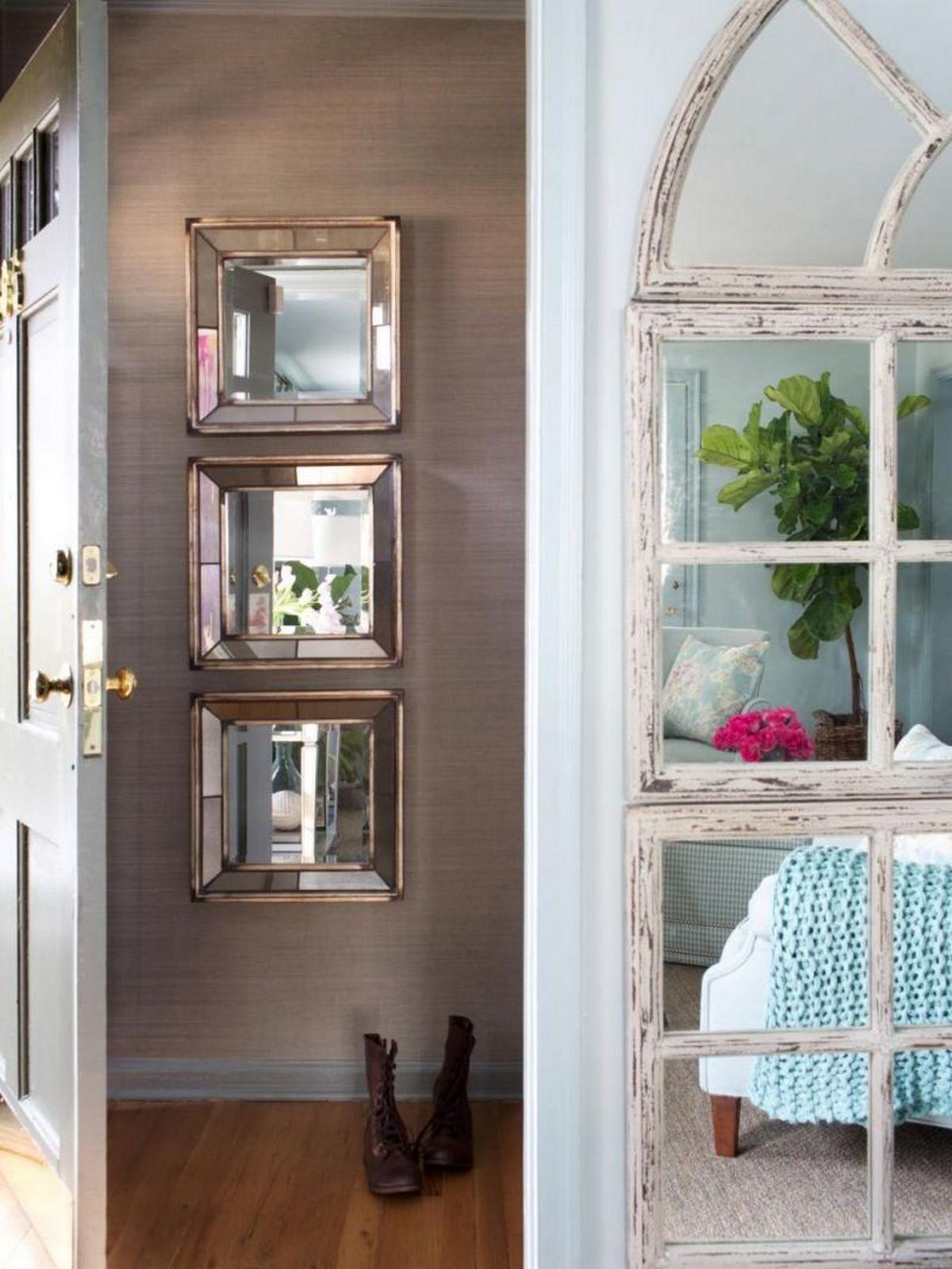 красивые зеркала под дизайн дома прихожей