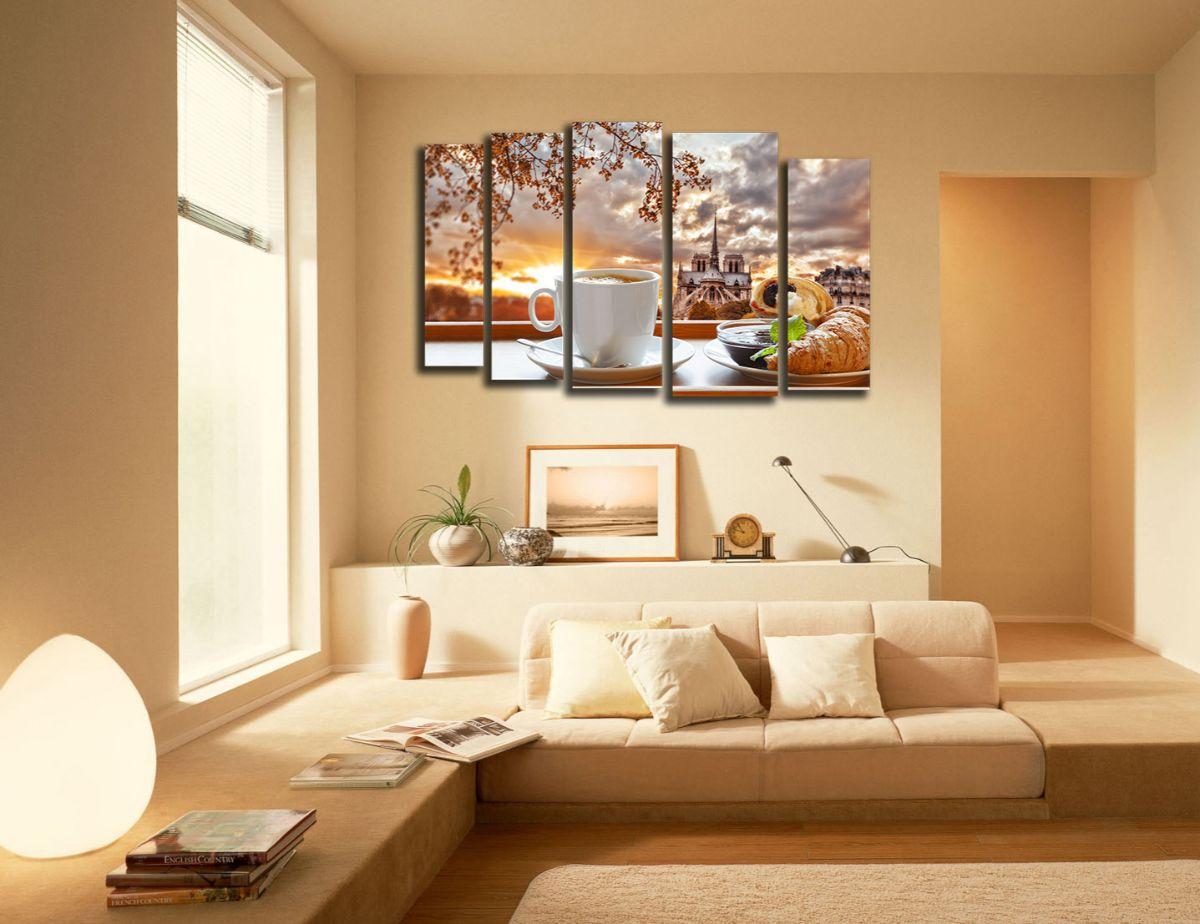 нюдовый интерьер небольшой квартиры
