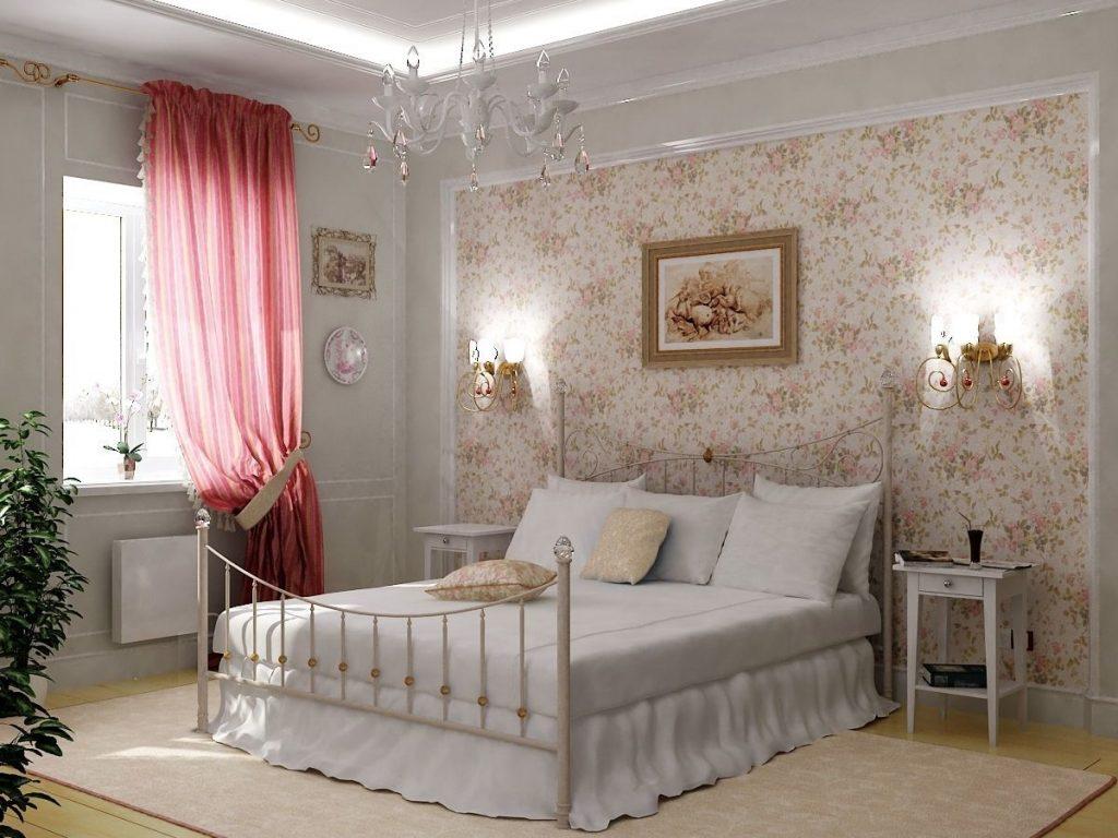 нюдовый интерьер спальни элегантный дизайн