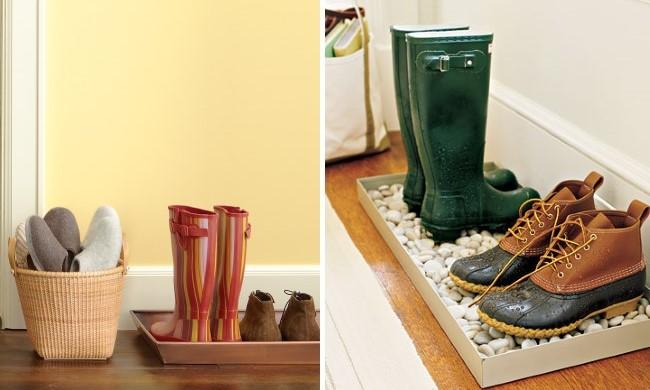 Идеи хранения обуви в прихожей - интересные варианты