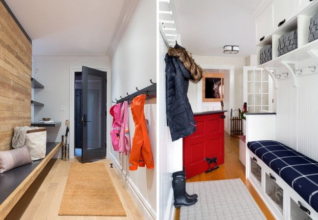 Как организовать хранение в прихожей в узком коридоре
