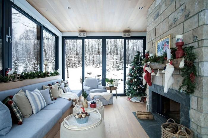 Как красиво украсить гостиную на Новый 2021 год