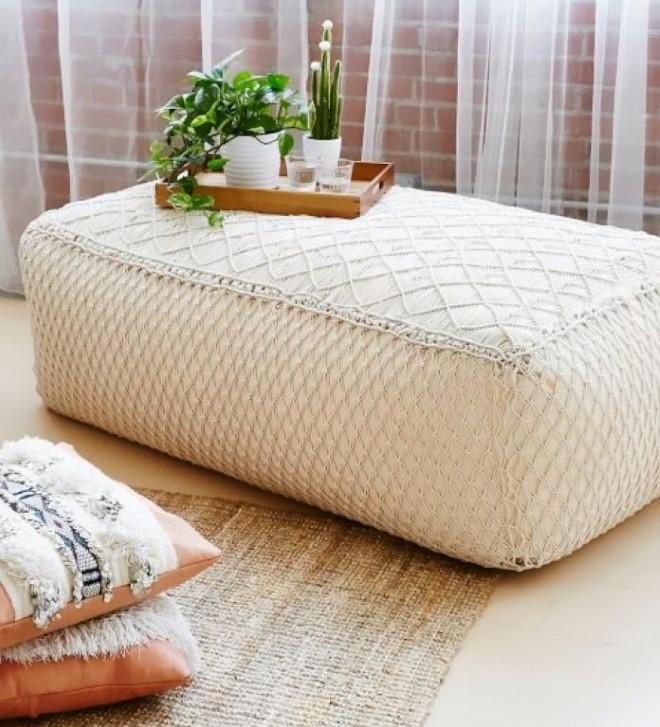 Чехлы макраме для мебели и подушек: идеи 2021