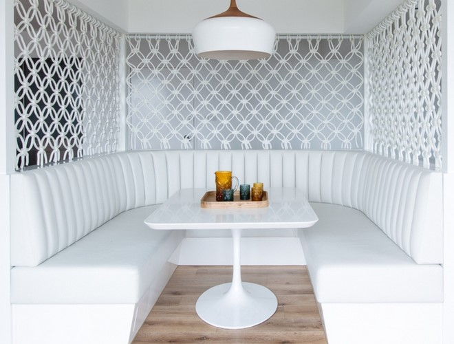 Идеи перегородок макраме для интерьера квартиры