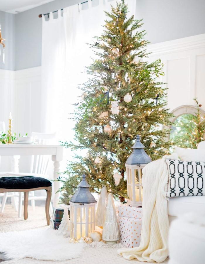 Как модно и красиво украсить квартиру на Новый год 2021