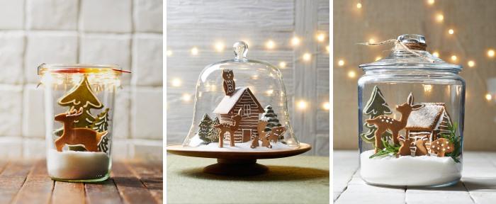 Домики, новогодние композиции из имбирных пряников