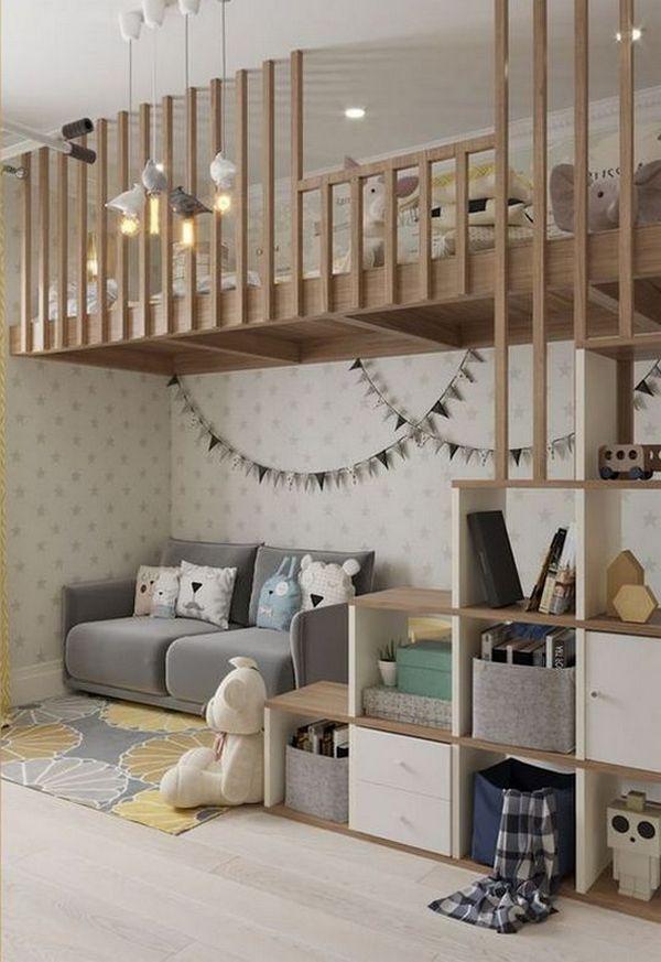 детская зона в однокомнатной квартире фото