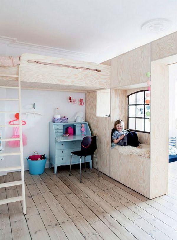 как отгородить детскую кроватку в однокомнатной квартире пример