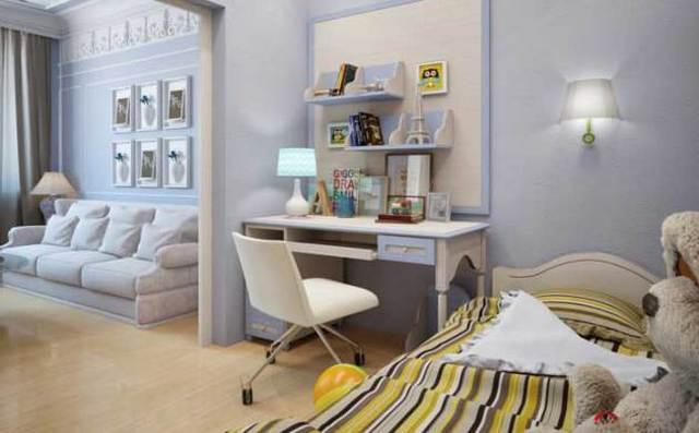 как сделать детский уголок в однокомнатной квартире