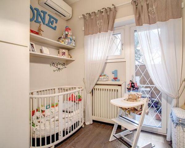 детский уголок в однокомнатной квартире пример на фото
