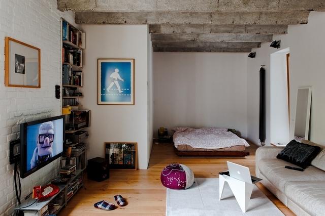 маленькая квартира для молодой семьи
