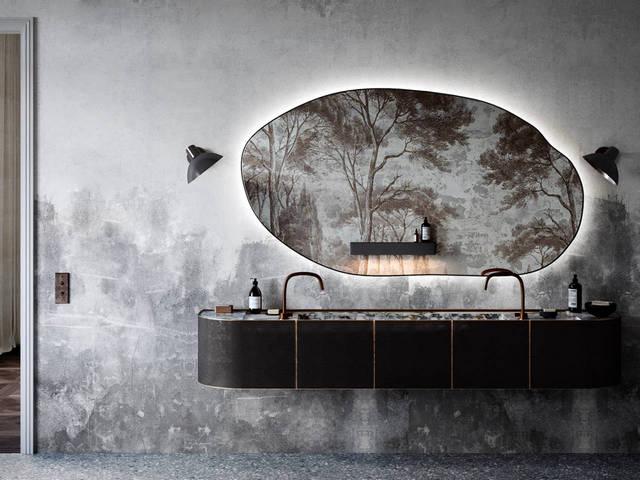 дизайн интерьера 2021 ванная