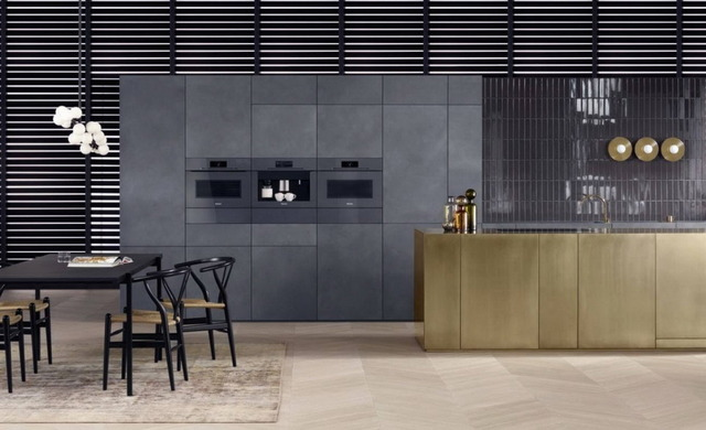 дизайн кухни гостиной в стиле минимализм фото