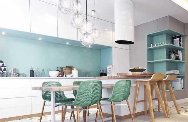 интерьеры кухни в стиле минимализм