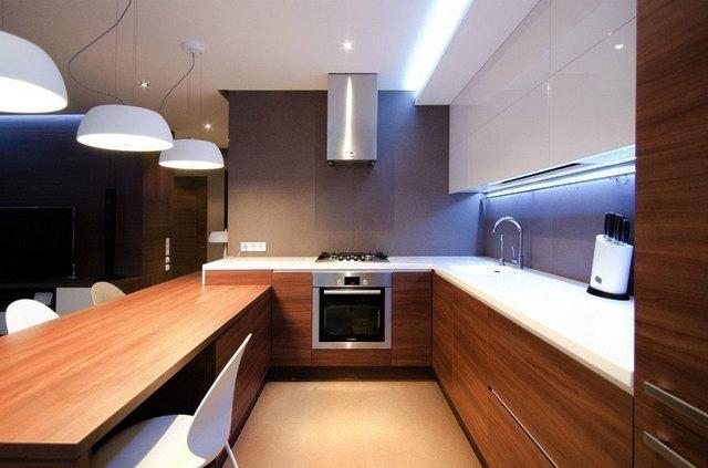 как выглядит кухня в стиле минимализм
