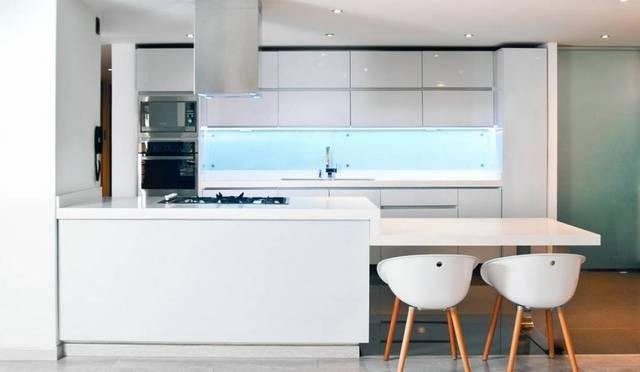 красивые интерьеры кухни в стиле минимализм