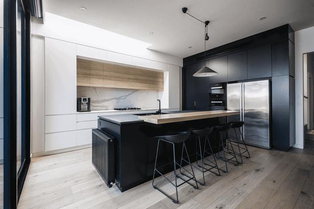 красивые кухни в стиле минимализм в квартирах