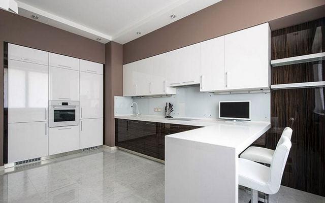 кухня в стиле минимализм на фото