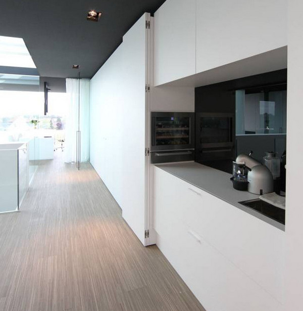 кухня в стиле минимализм пример