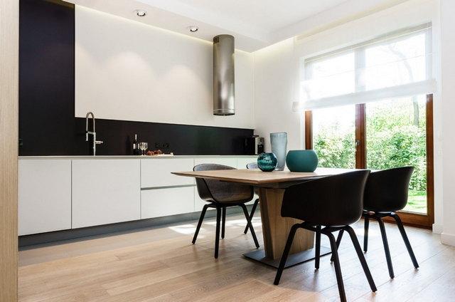 кухня в стиле минимализм светлая