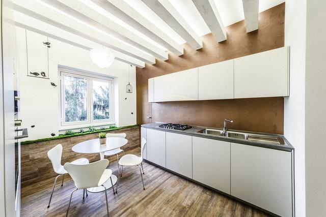 современная кухня в стиле минимализм фото