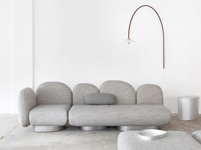 тренды дизайна интерьера модный диван