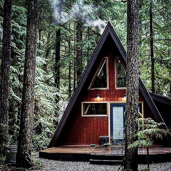 дом шале альпийского типа
