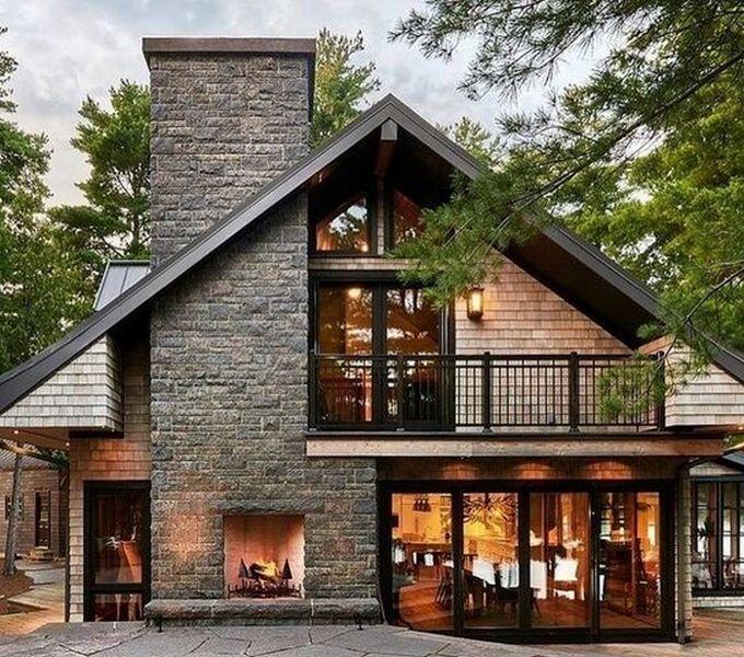 дома в стиле шале фото английский стиль