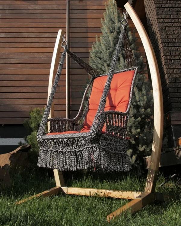 как изменить дизайн старого кресла фото пример