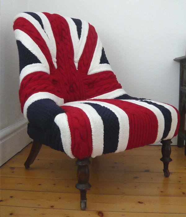 как изменить дизайн старого кресла фото