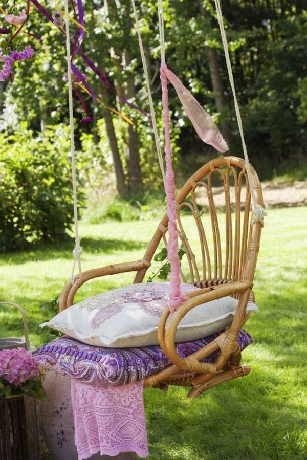 как изменить дизайн старого кресла пример
