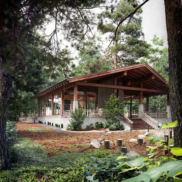 красивые дома в стиле шале фото