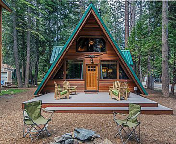 маленькие дома в стиле шале двухэтажные