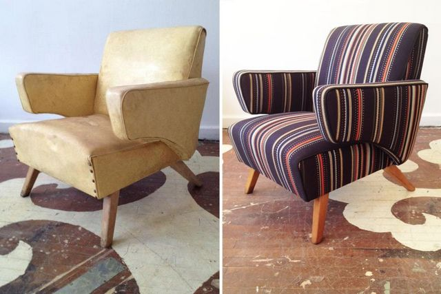 реставрация деревянного кресла своими руками мягкой обивкой