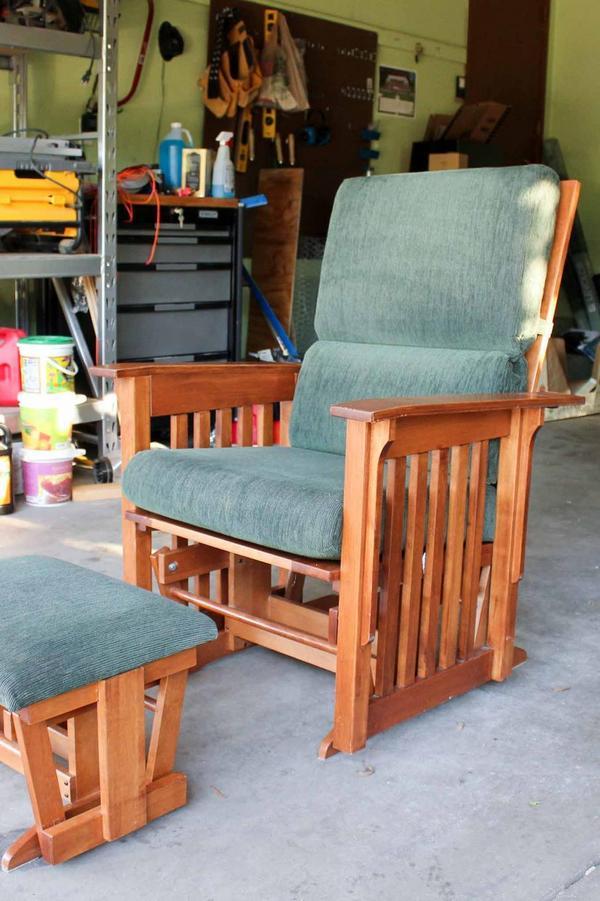 реставрация кресла своими руками легко